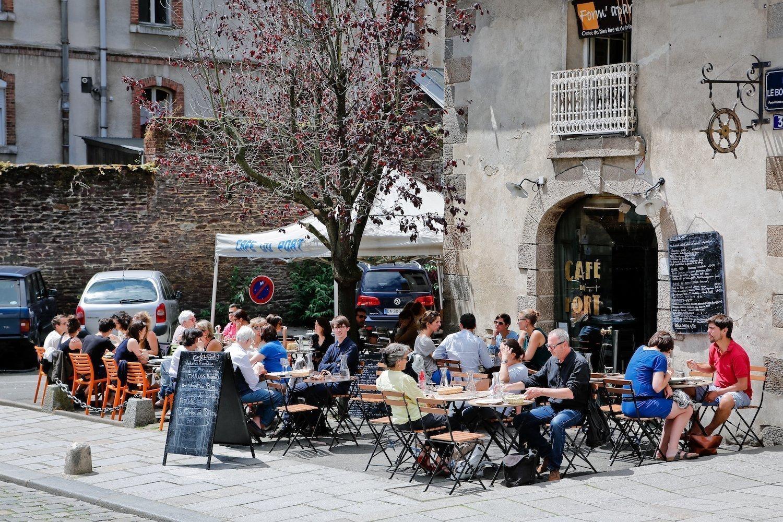La terrasse du Café du Port