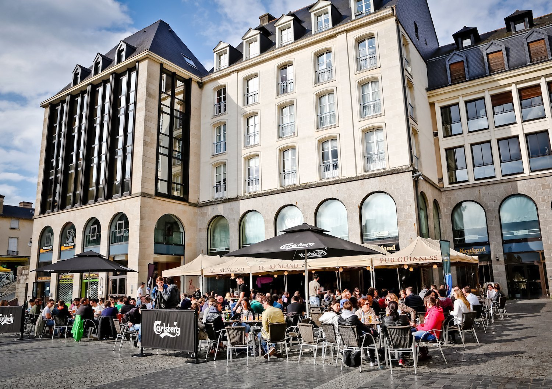 La terrasse du Pub Kenland à Rennes