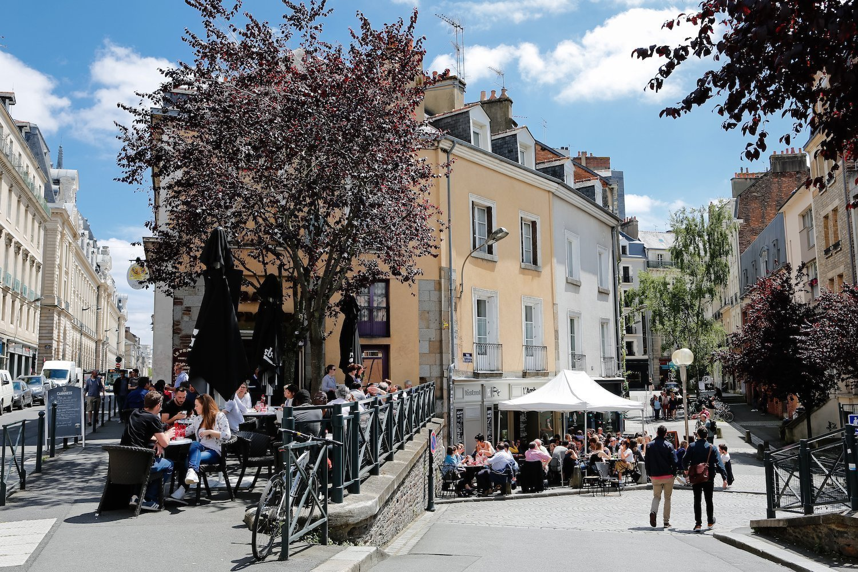 Terrasse du Progrès à Rennes