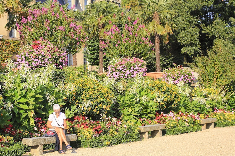 Jardins du Palais Saint-Georges à Rennes