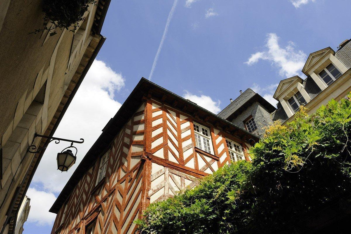 Rue des Dames à Rennes