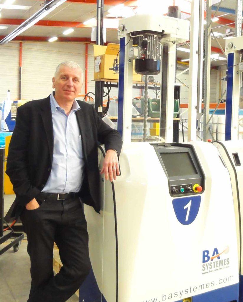Jean-Luc Thomé, président de BA Système