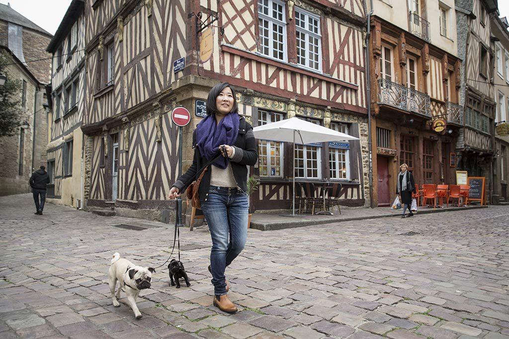 Maisons - centre de ville de Rennes