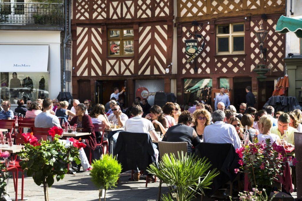 Centre ville de Rennes