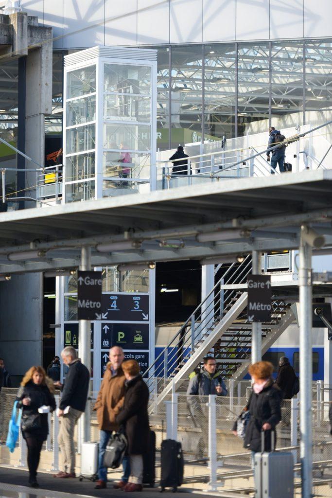Rennes accessible en TGV