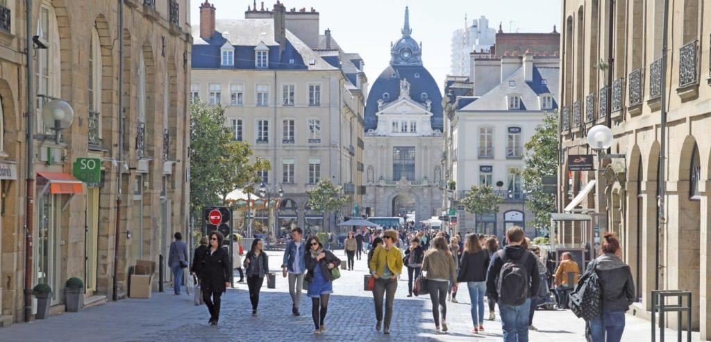 Rennes dowtowmn