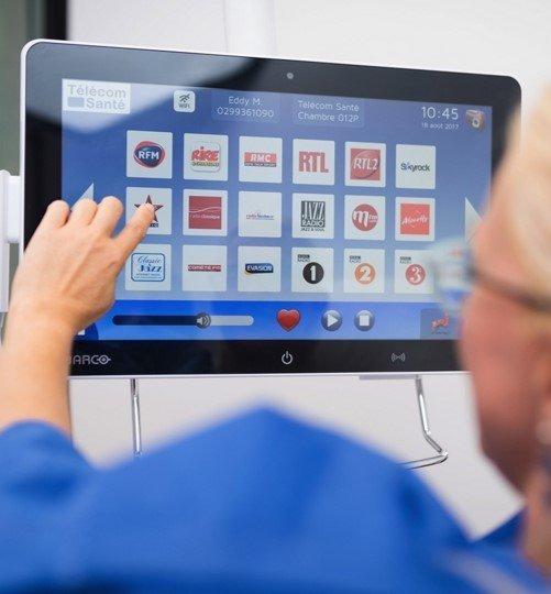 Télécom Santé révolutionne le lit médicalisé