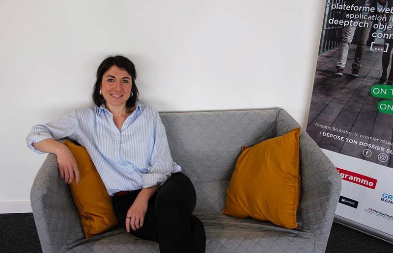 Stéphanie MAROS, fondatrice et dirigeante de SENEXT
