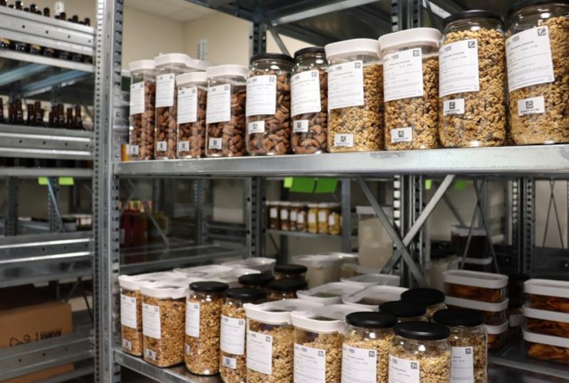 L'espace de stockage du magasin ecoRennais
