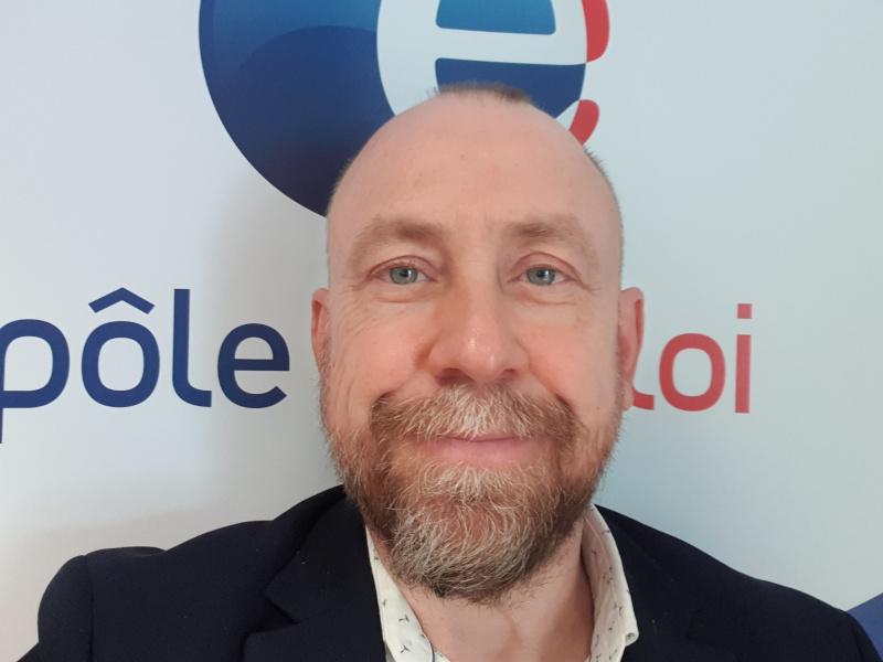 Frédéric Mangelinck, directeur Pôle emploi Rennes Centre