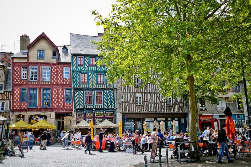 La Place St Anne à Rennes