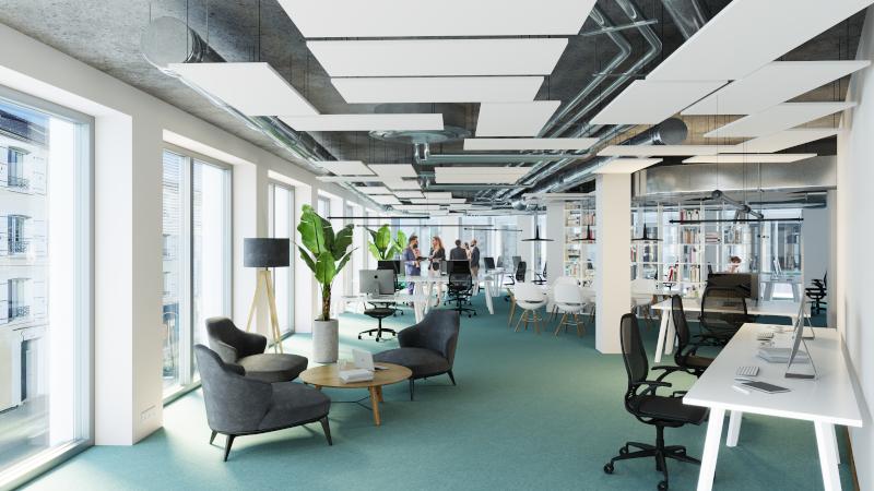 Les bureaux - Immeuble Le Beaumont - EuroRennes