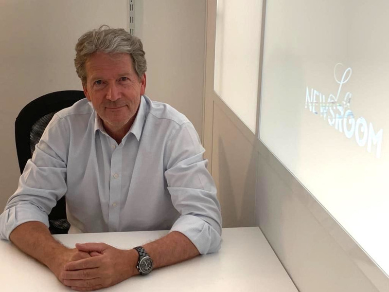 Pierre Giboire, fondateur de Mer & Médias et de La Newsroom