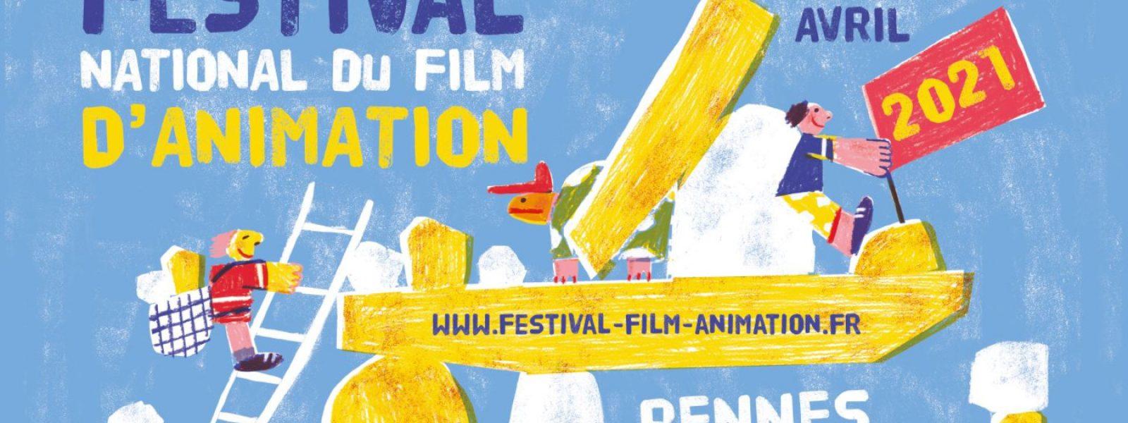 Affiche Festival film animation 2021