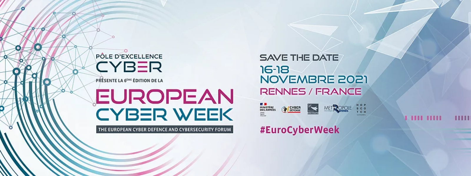 Bannière European Cyber Week 2021