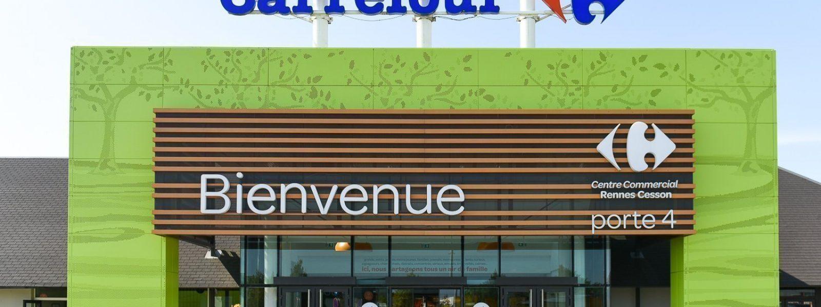 Pôle Rigourdière, Carrefour Cesson-Sévigné.