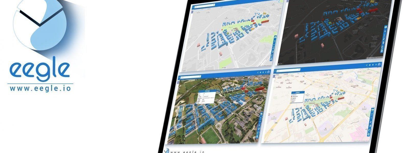 Eegle - plateforme de données cartographique