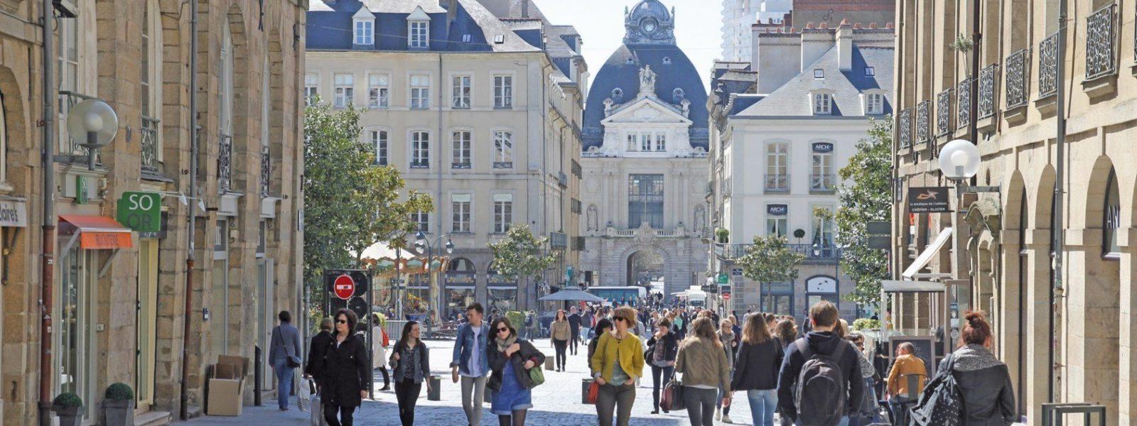 Centre ville de Rennes, Rue le Bastard